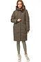 Утепленное пальто #67176. Вид 2.
