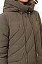 Утепленное пальто #67176. Вид 4.