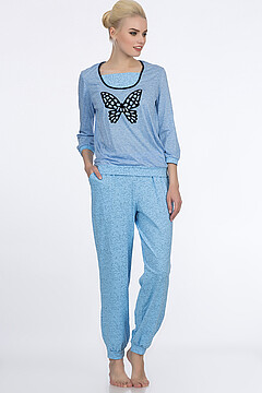 Костюм (блуза+брюки)