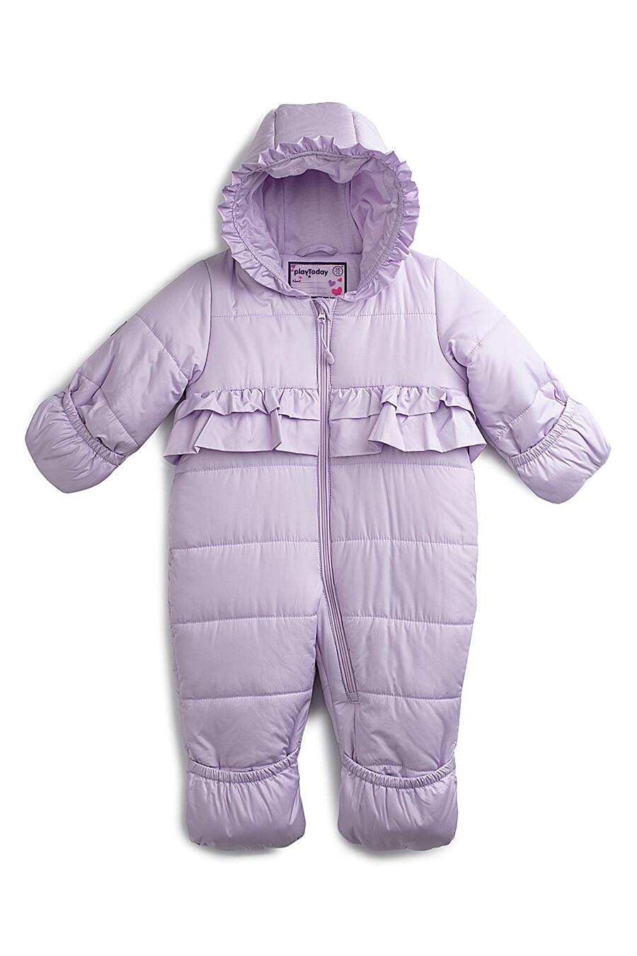 Комбинезон для девочек PLAYTODAY 117131 купить оптом от производителя. Совместная покупка детской одежды в OptMoyo