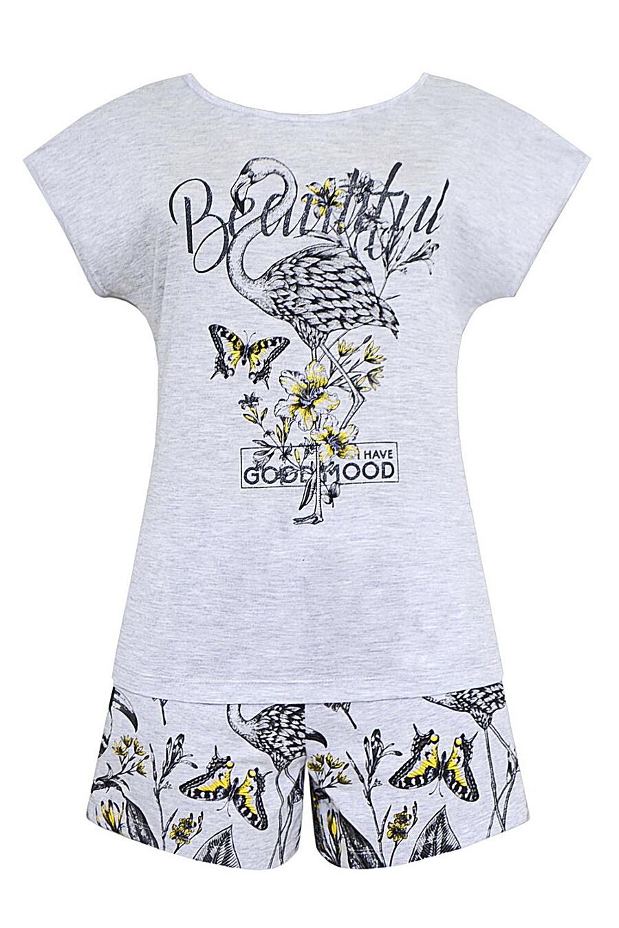 Комплект (Шорты+Футболка) для женщин TRIKOZZA 121705 купить оптом от производителя. Совместная покупка женской одежды в OptMoyo