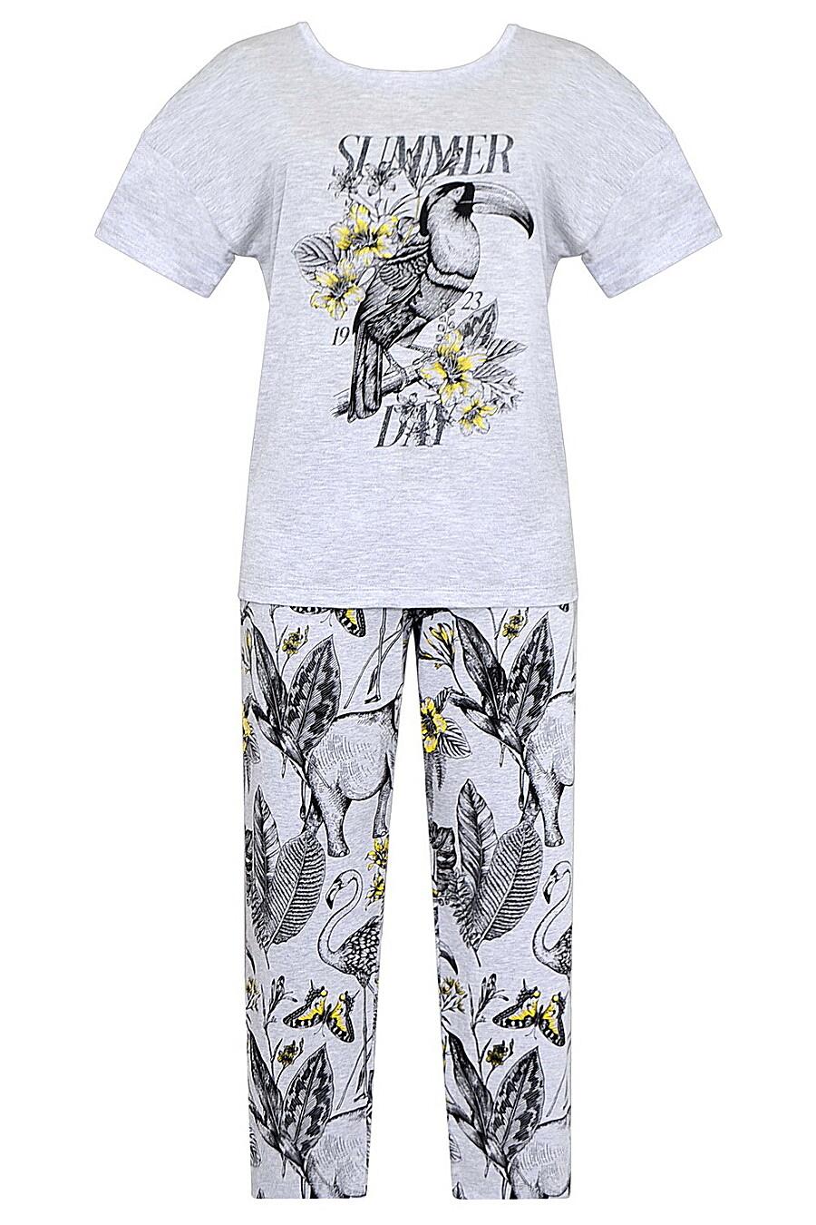 Комплект (Бриджи+Футболка) для женщин TRIKOZZA 121707 купить оптом от производителя. Совместная покупка женской одежды в OptMoyo