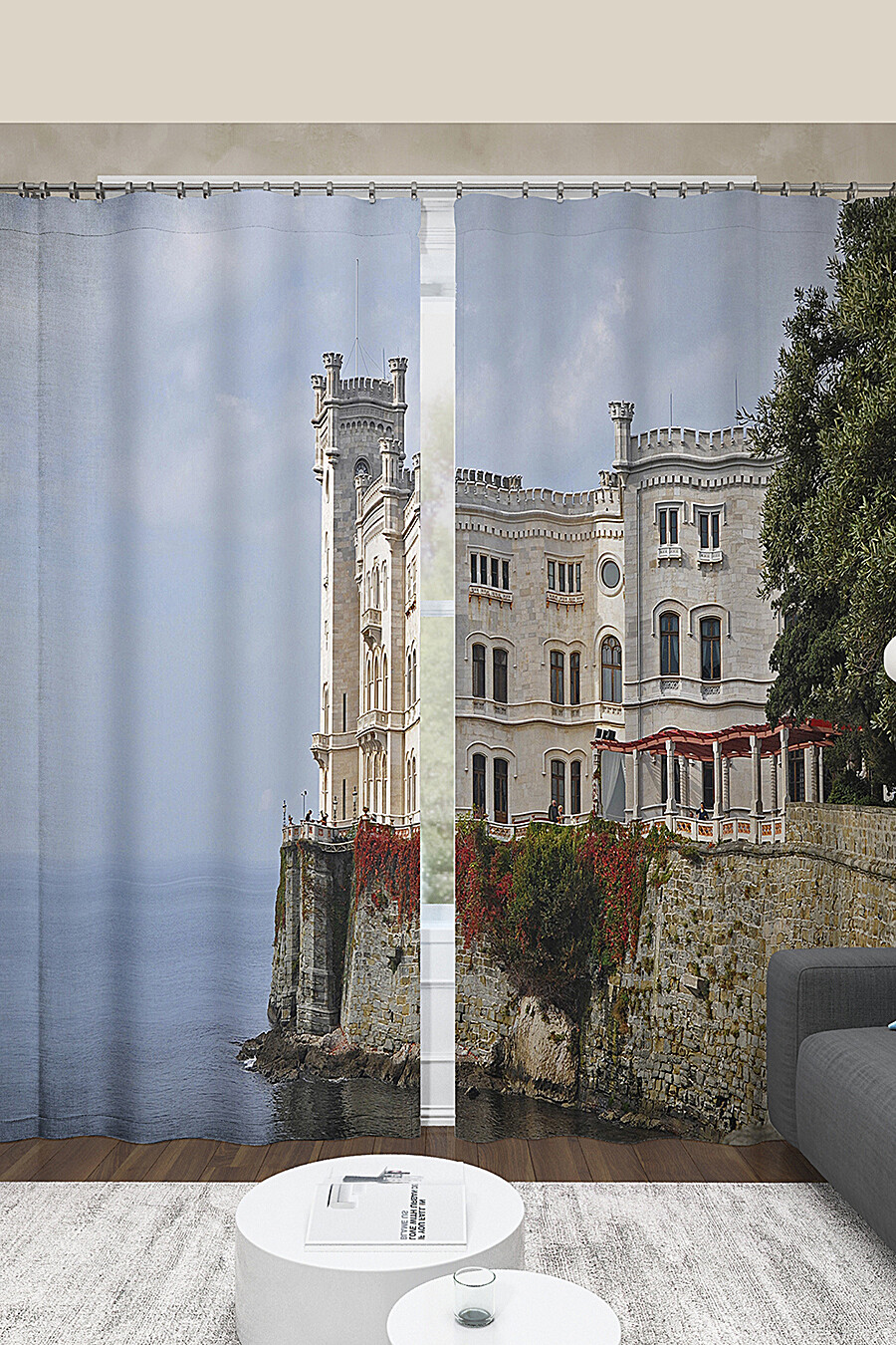 Фотошторы для дома ART HOME TEXTILE 123573 купить оптом от производителя. Совместная покупка товаров для дома в OptMoyo