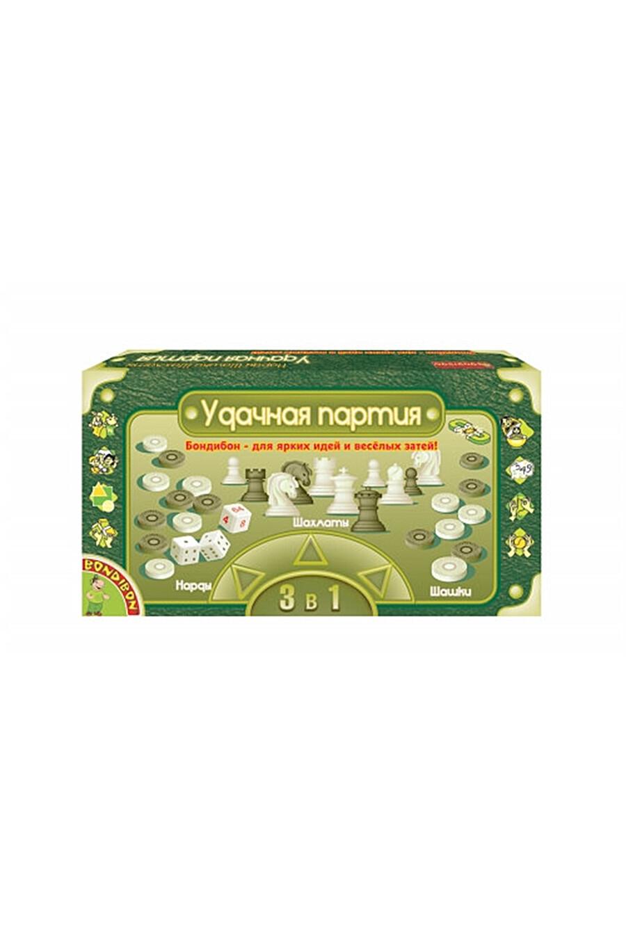 Удачная партия 5в1 BONDIBON (126088), купить в Optmoyo.ru