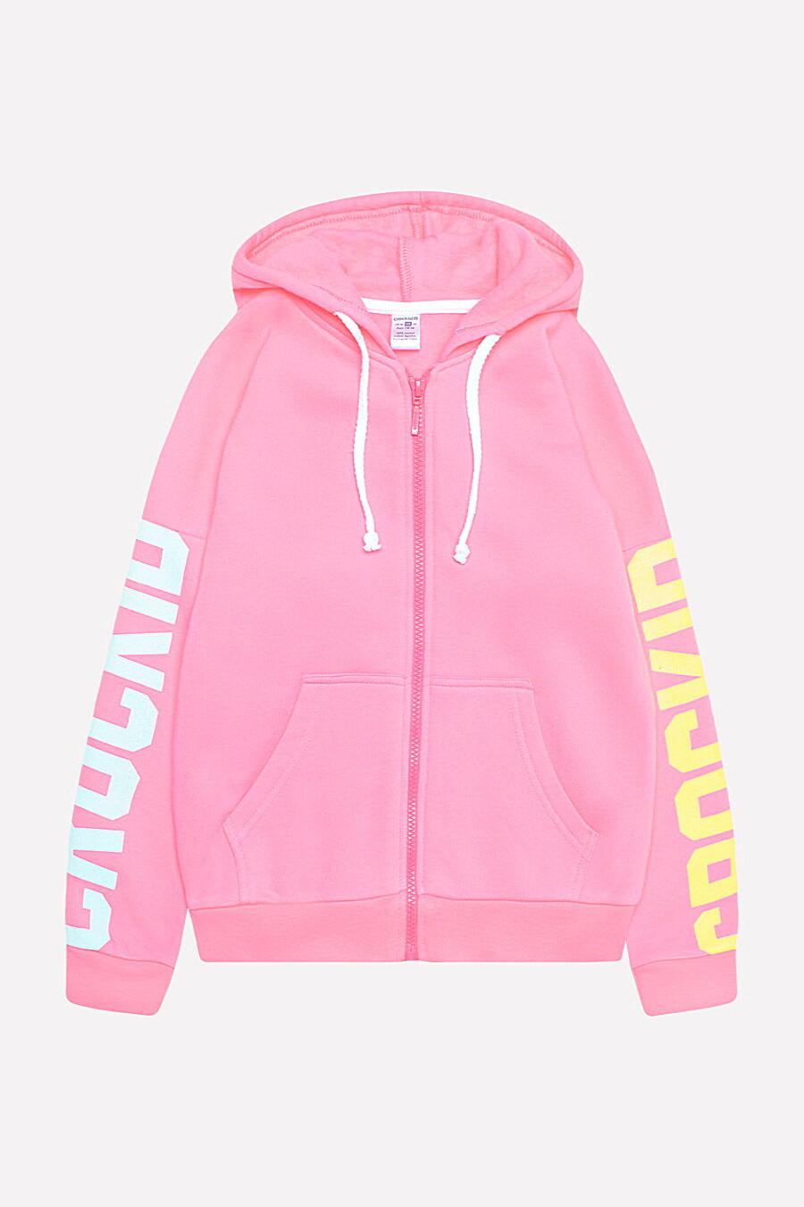 Толстовка для девочек CROCKID 130717 купить оптом от производителя. Совместная покупка детской одежды в OptMoyo