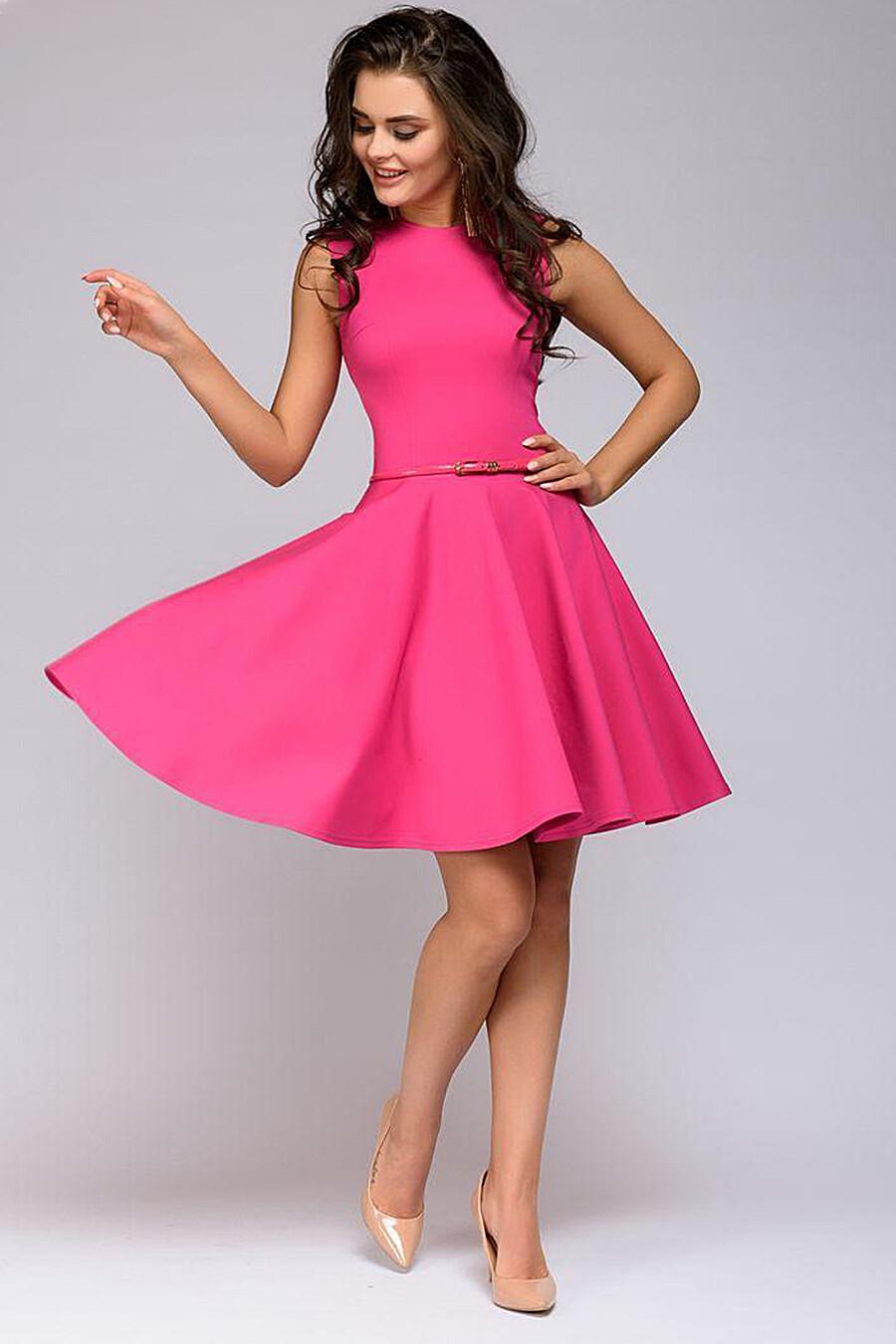 Платье для женщин 1001 DRESS 130997 купить оптом от производителя. Совместная покупка женской одежды в OptMoyo