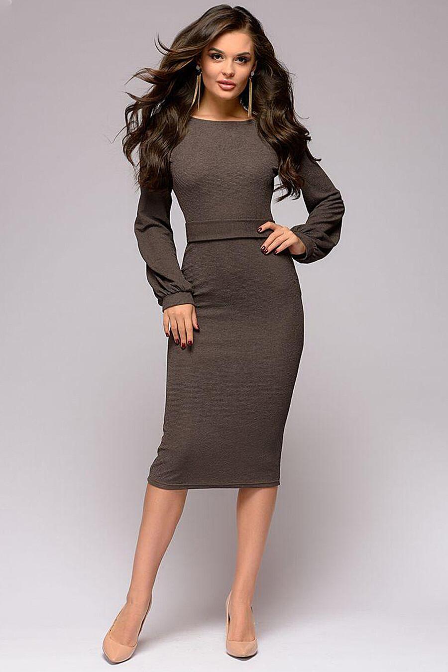 Платье для женщин 1001 DRESS 131034 купить оптом от производителя. Совместная покупка женской одежды в OptMoyo