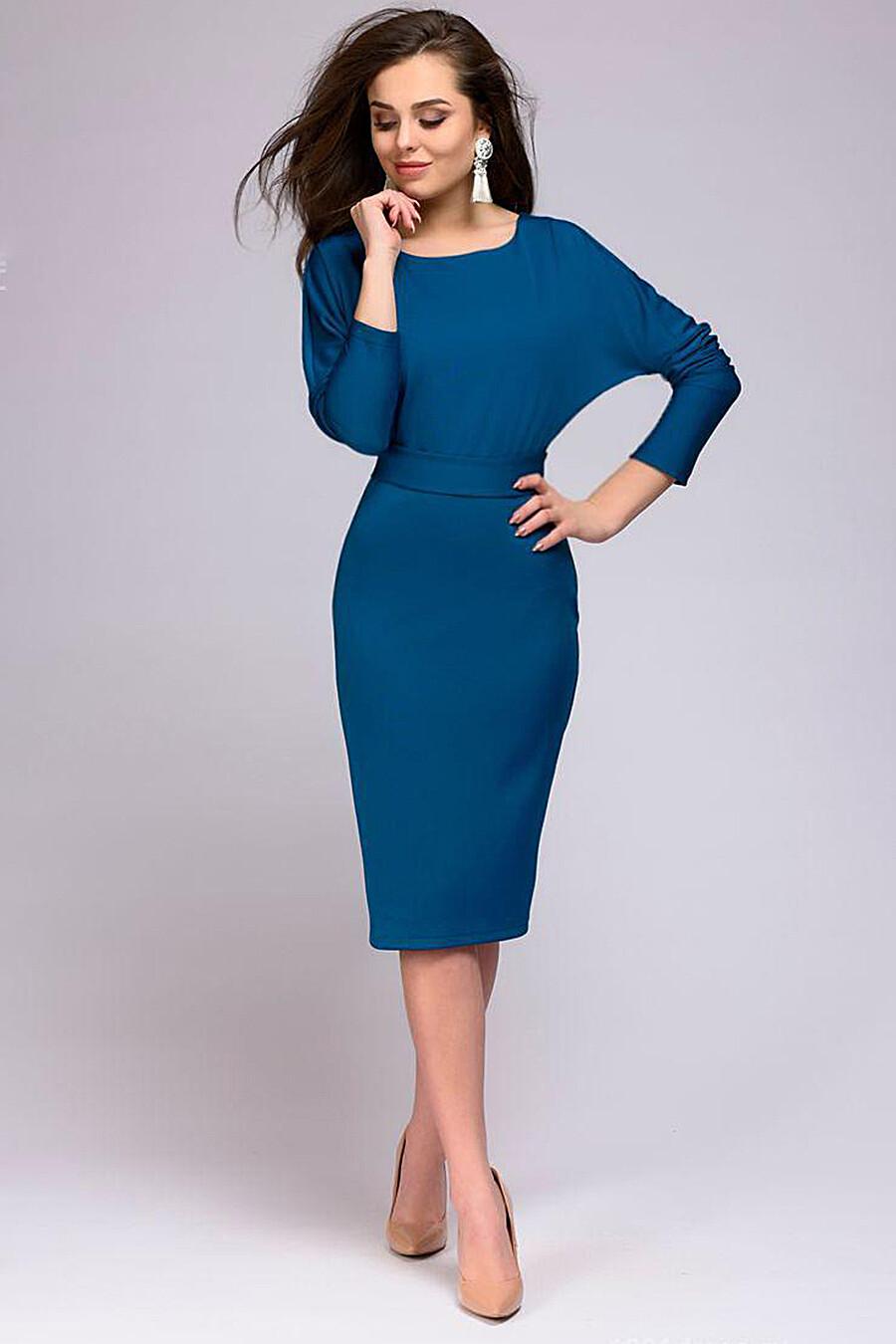 Платье для женщин 1001 DRESS 131055 купить оптом от производителя. Совместная покупка женской одежды в OptMoyo