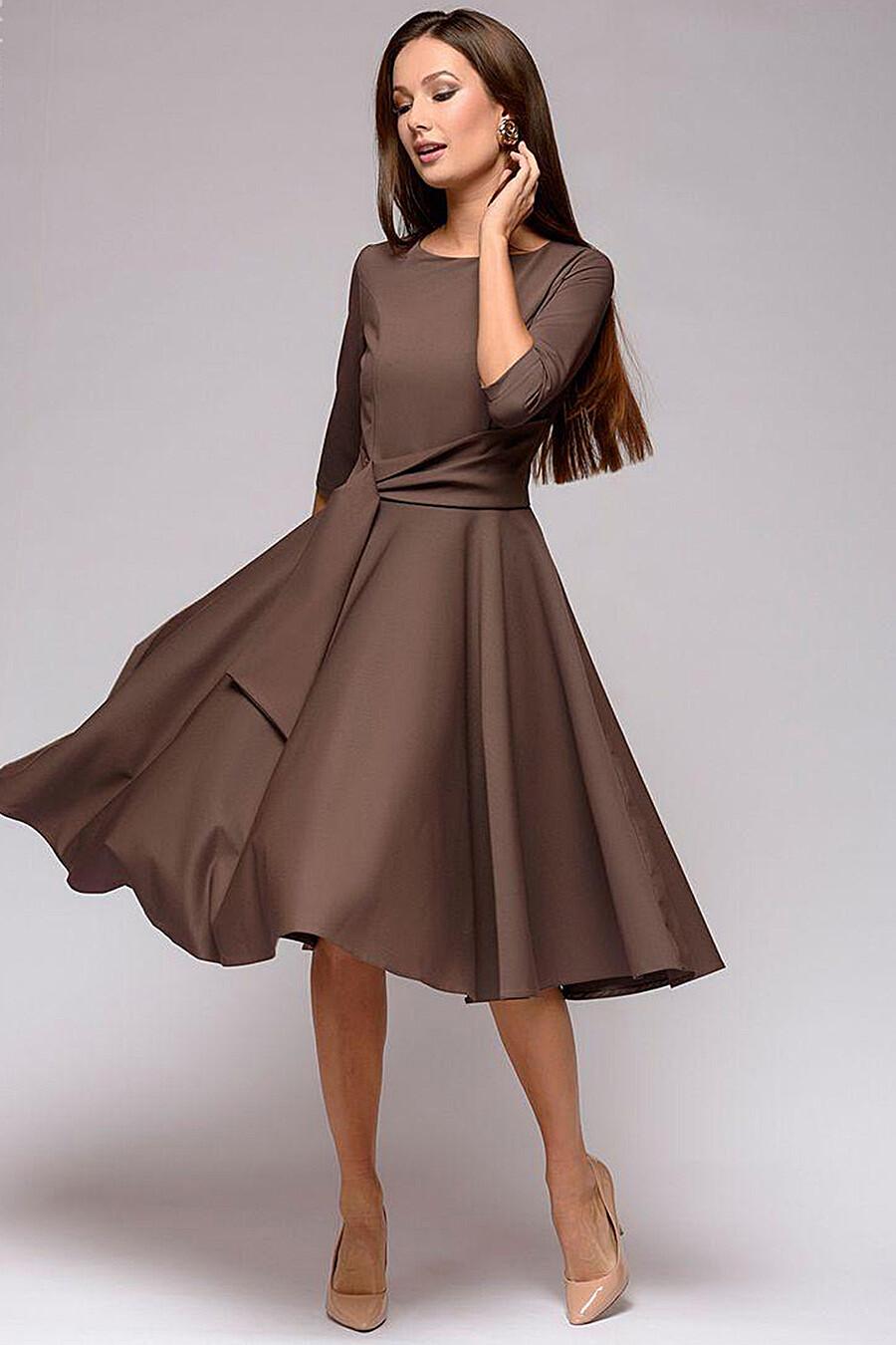 Платье для женщин 1001 DRESS 131478 купить оптом от производителя. Совместная покупка женской одежды в OptMoyo