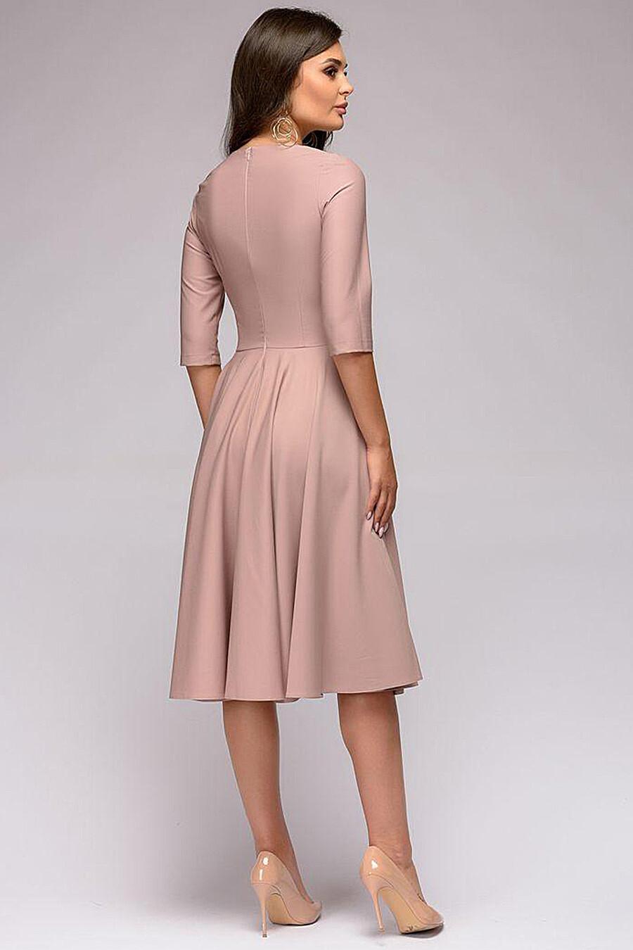 Платье для женщин 1001 DRESS 131482 купить оптом от производителя. Совместная покупка женской одежды в OptMoyo