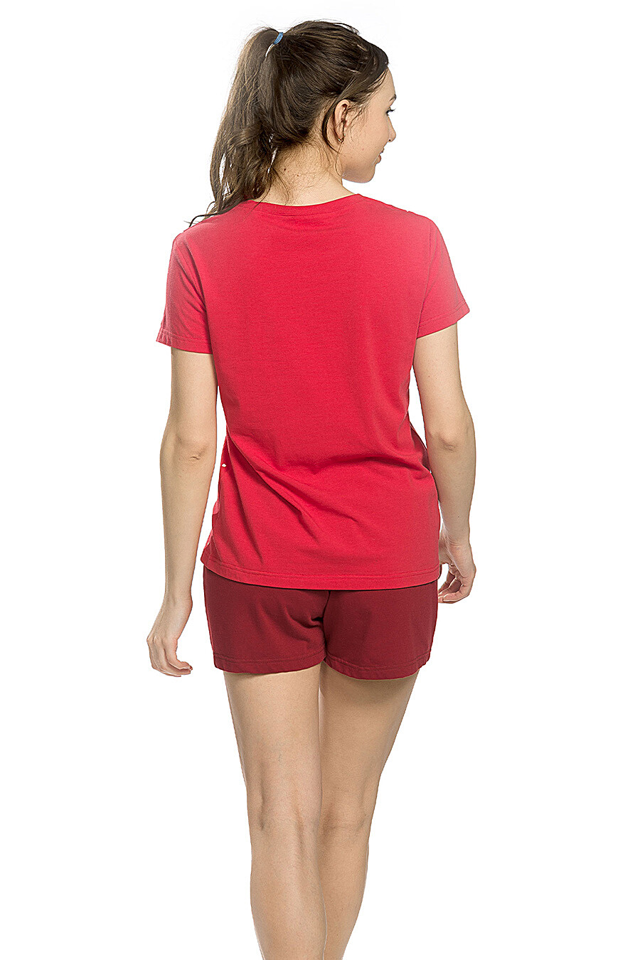 Копмлект (Шорты+Футболка) для женщин PELICAN 146646 купить оптом от производителя. Совместная покупка женской одежды в OptMoyo