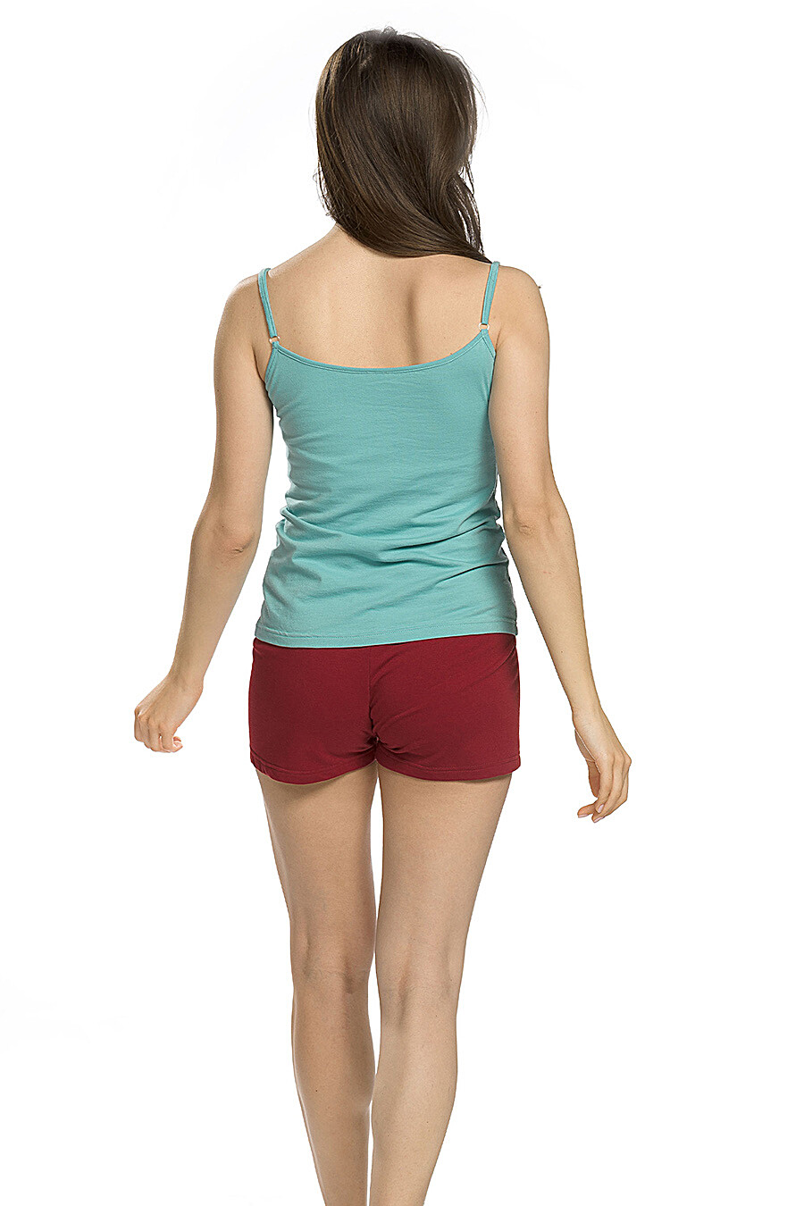 Копмлект (Шорты+Майка) для женщин PELICAN 146650 купить оптом от производителя. Совместная покупка женской одежды в OptMoyo