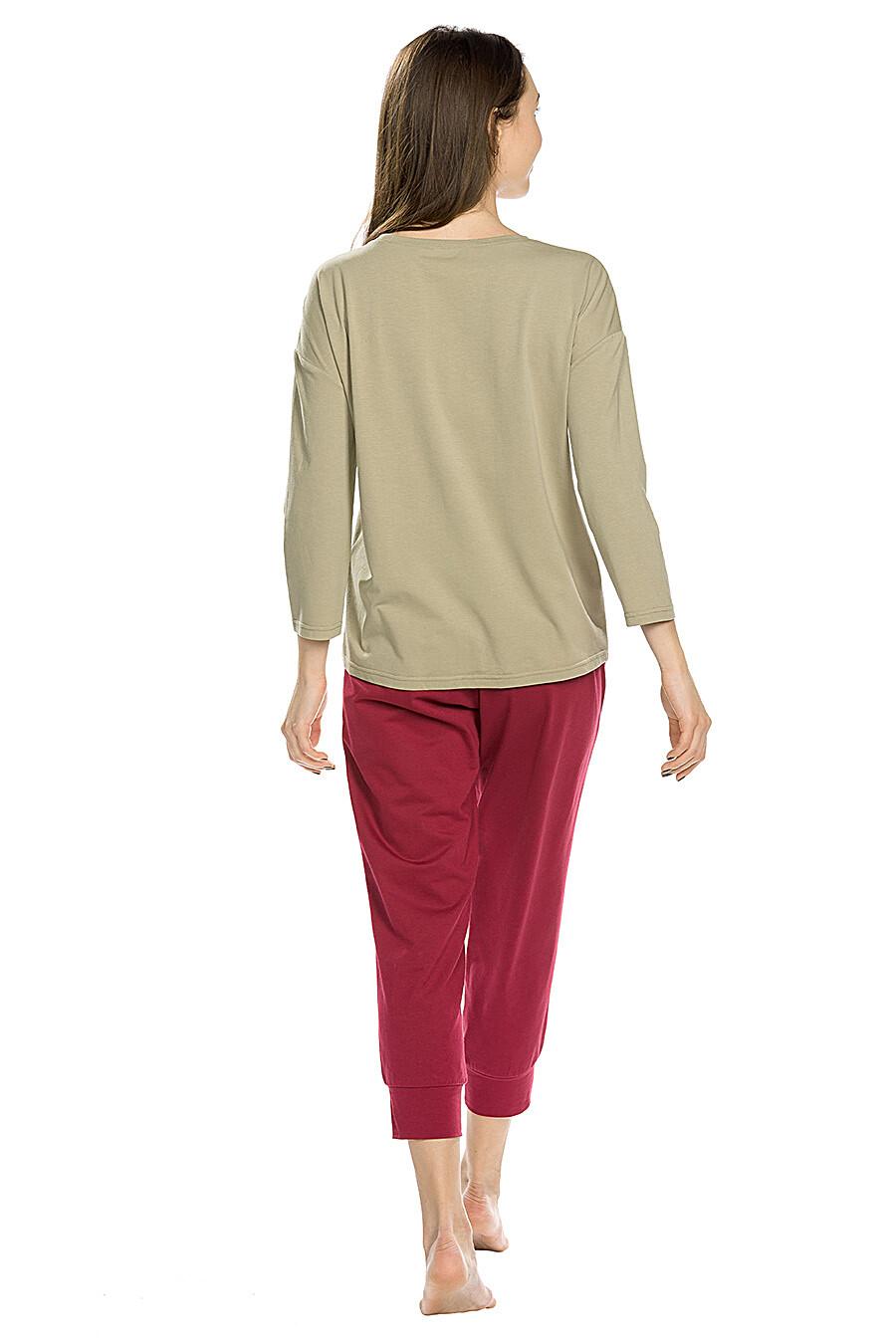 Копмлект (Бриджи+Джемпер) для женщин PELICAN 146658 купить оптом от производителя. Совместная покупка женской одежды в OptMoyo