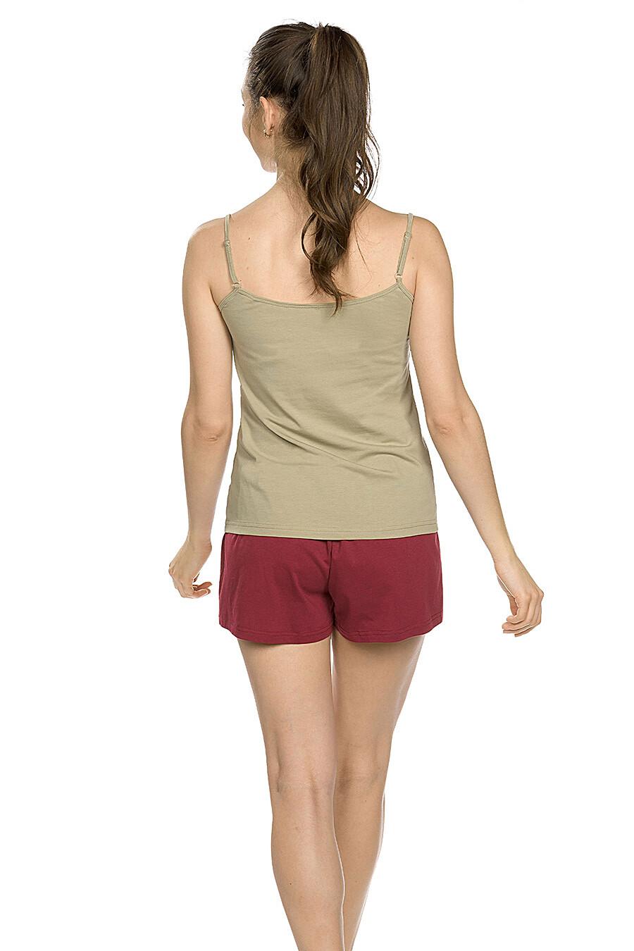 Копмлект (Шорты+Майка) для женщин PELICAN 146661 купить оптом от производителя. Совместная покупка женской одежды в OptMoyo