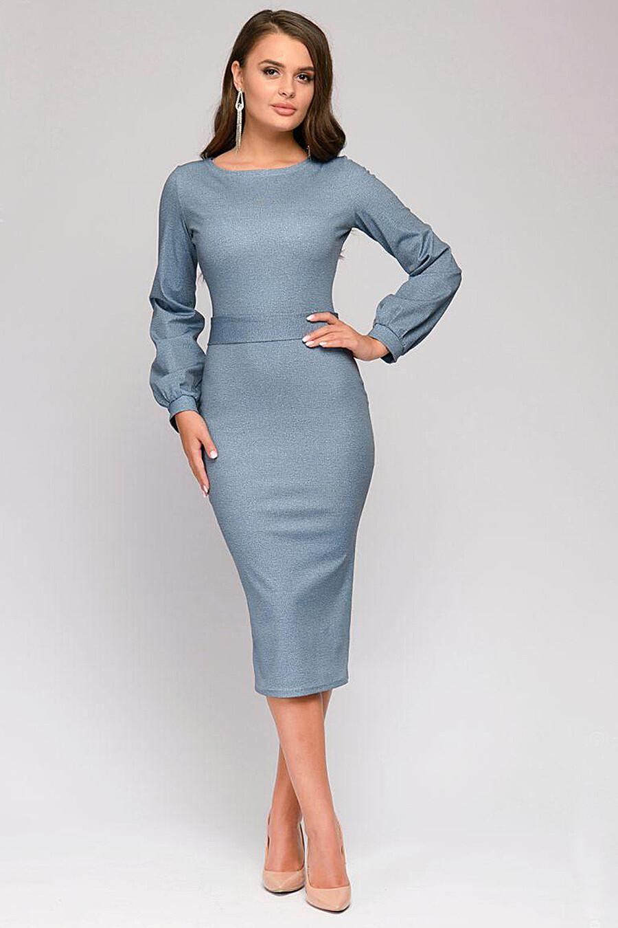 Платье для женщин 1001 DRESS 147259 купить оптом от производителя. Совместная покупка женской одежды в OptMoyo