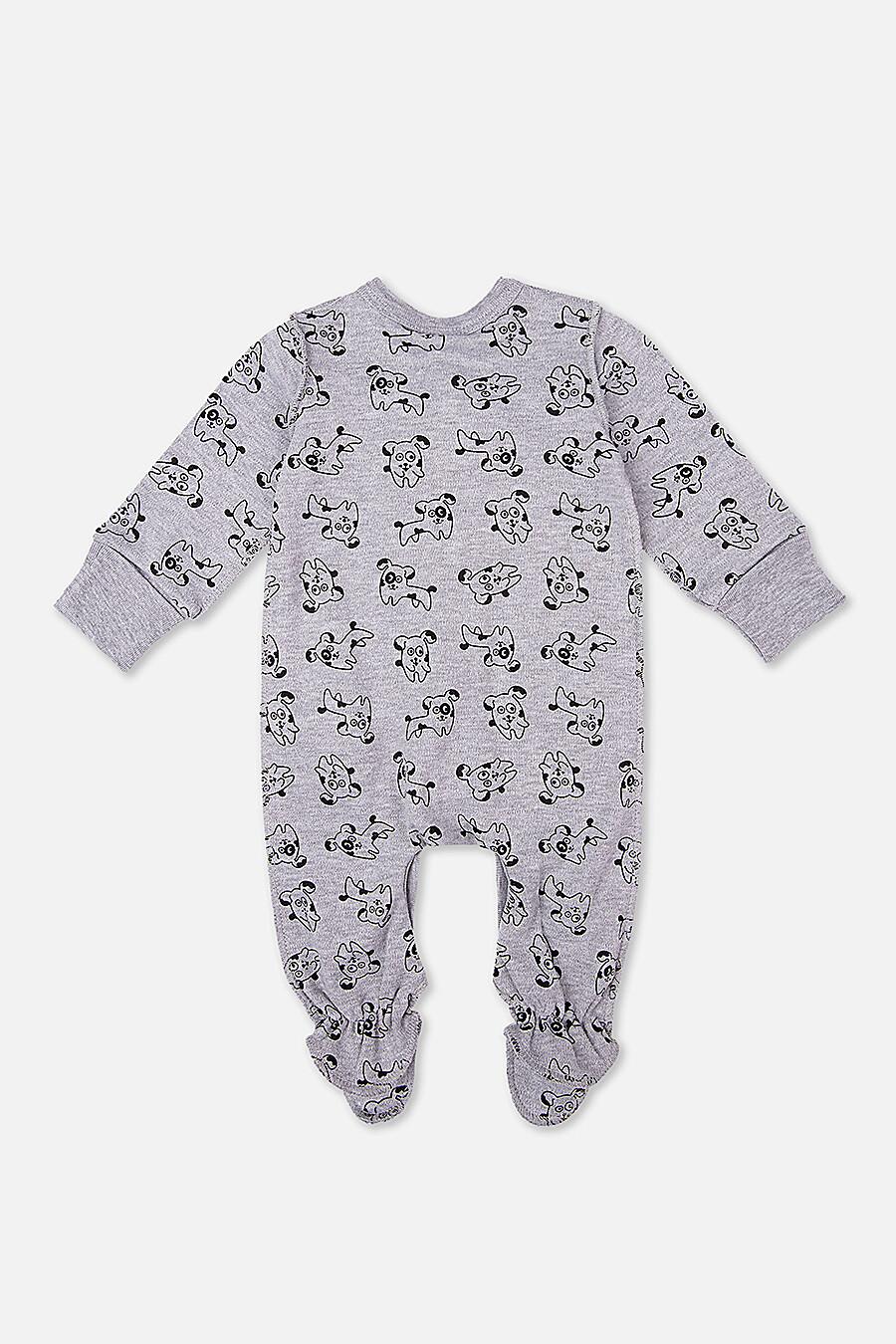 Комбинезон + Нагрудник для девочек PLAYTODAY 147343 купить оптом от производителя. Совместная покупка детской одежды в OptMoyo