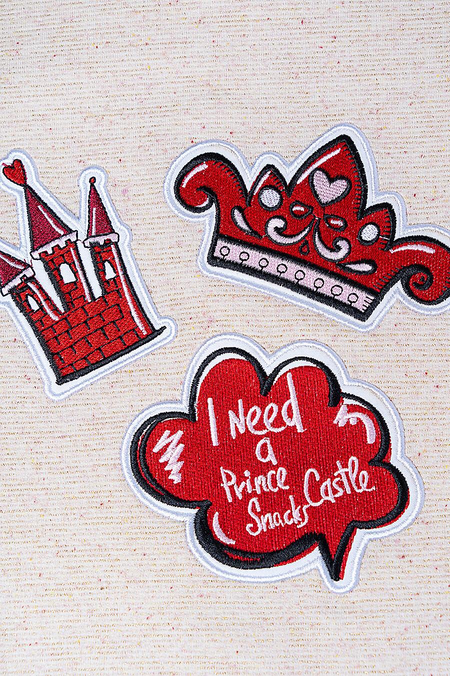 Толстовка для девочек PLAYTODAY 147406 купить оптом от производителя. Совместная покупка детской одежды в OptMoyo