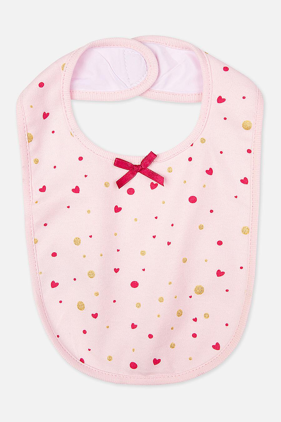 Комбинезон + Нагрудник для девочек PLAYTODAY 147436 купить оптом от производителя. Совместная покупка детской одежды в OptMoyo