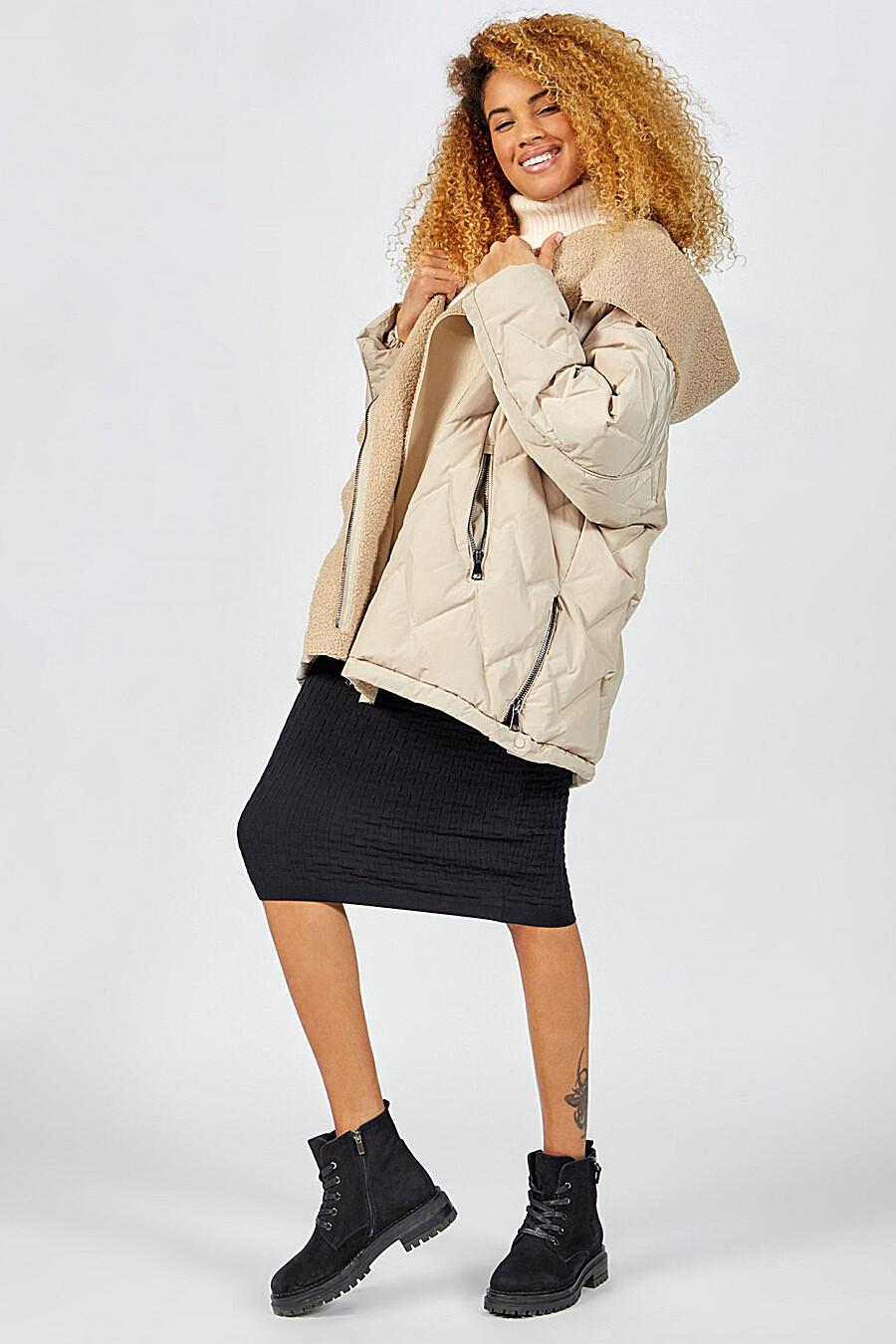 Куртка для женщин TOM FARR 148418 купить оптом от производителя. Совместная покупка женской одежды в OptMoyo
