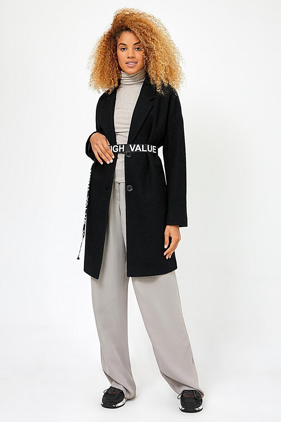 Пальто для женщин TOM FARR 148599 купить оптом от производителя. Совместная покупка женской одежды в OptMoyo