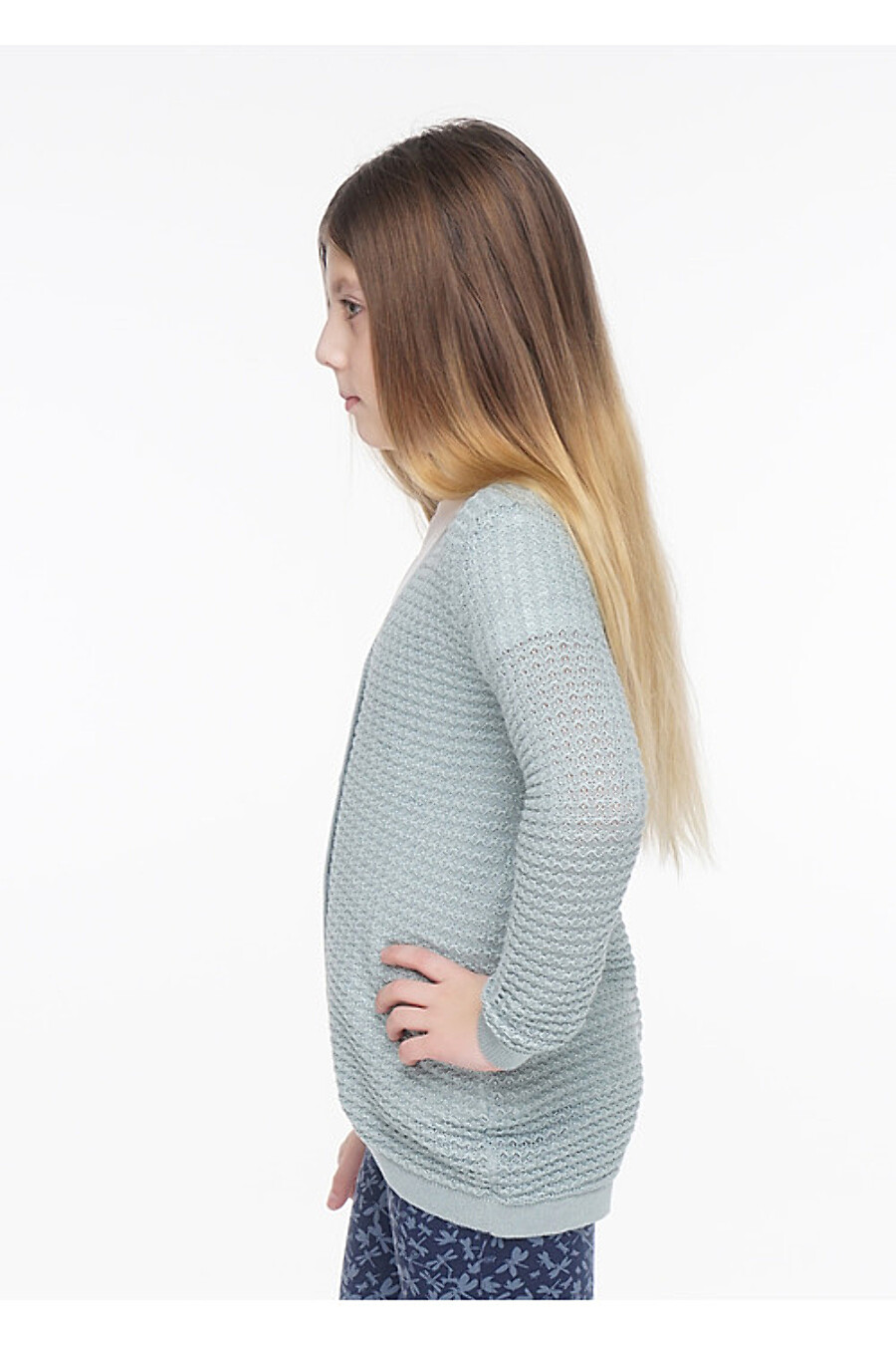 Кардиган для девочек CLEVER 155098 купить оптом от производителя. Совместная покупка детской одежды в OptMoyo