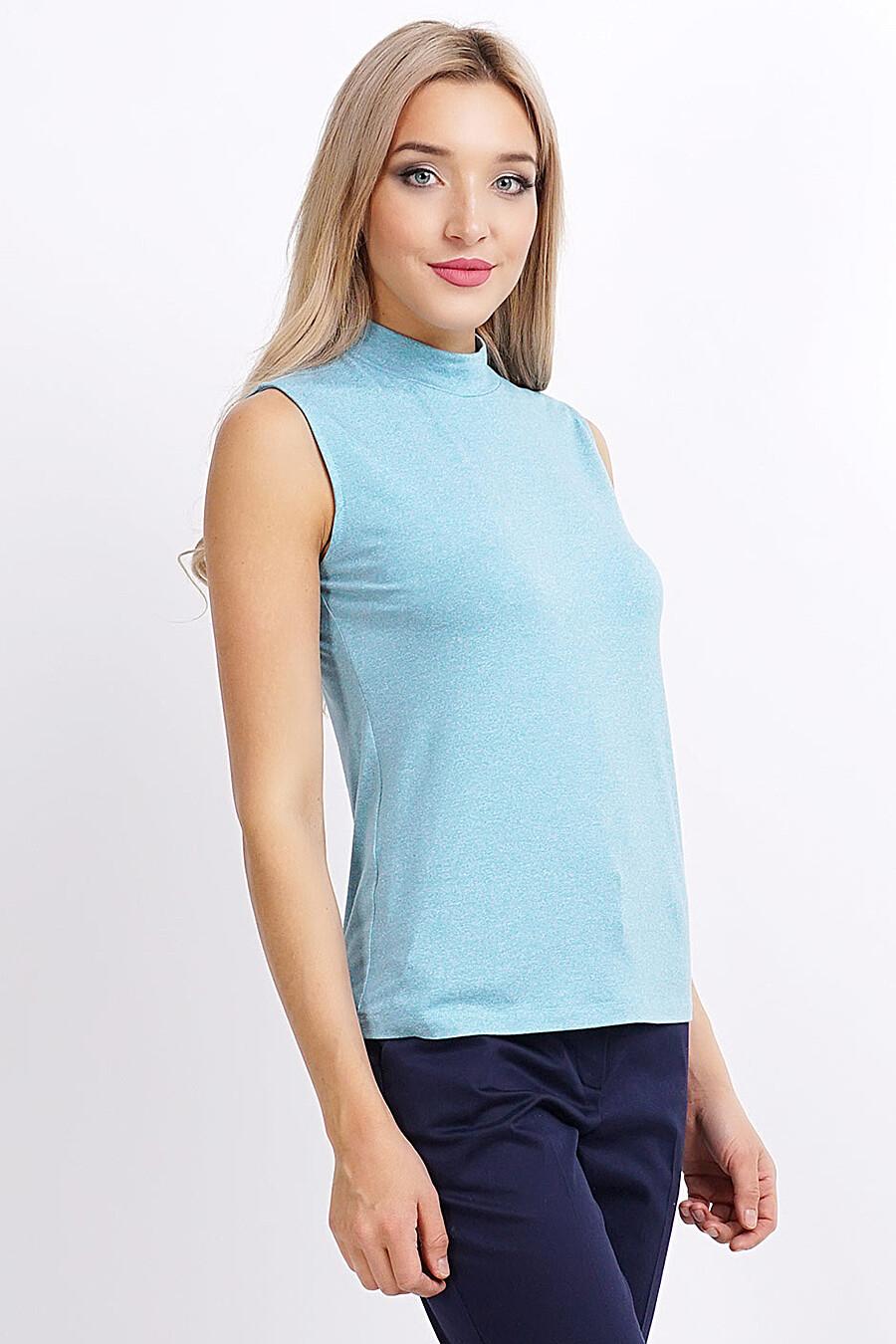 Топ для женщин CLEVER 155182 купить оптом от производителя. Совместная покупка женской одежды в OptMoyo