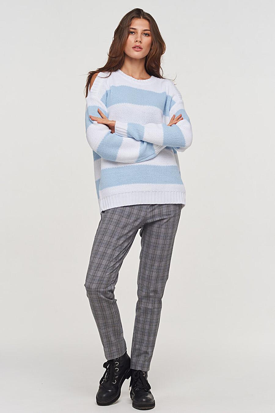 Джемпер для женщин VAY 155260 купить оптом от производителя. Совместная покупка женской одежды в OptMoyo