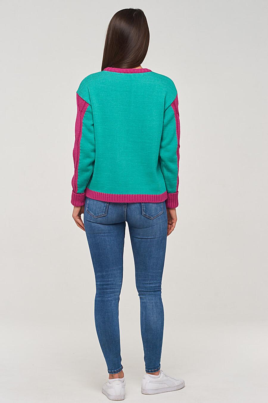 Джемпер для женщин VAY 155262 купить оптом от производителя. Совместная покупка женской одежды в OptMoyo