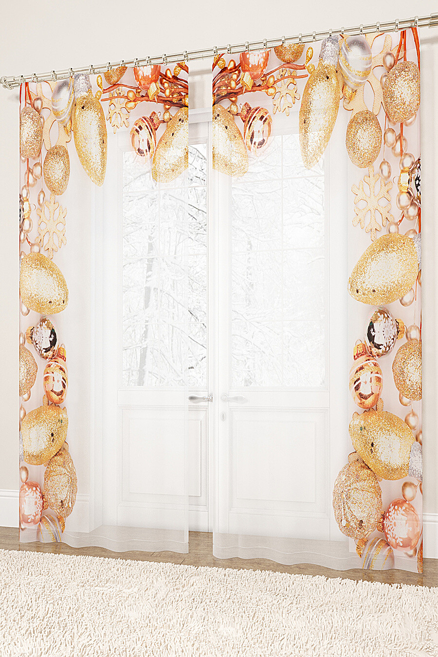 Фототюль для дома ART HOME TEXTILE 155742 купить оптом от производителя. Совместная покупка товаров для дома в OptMoyo