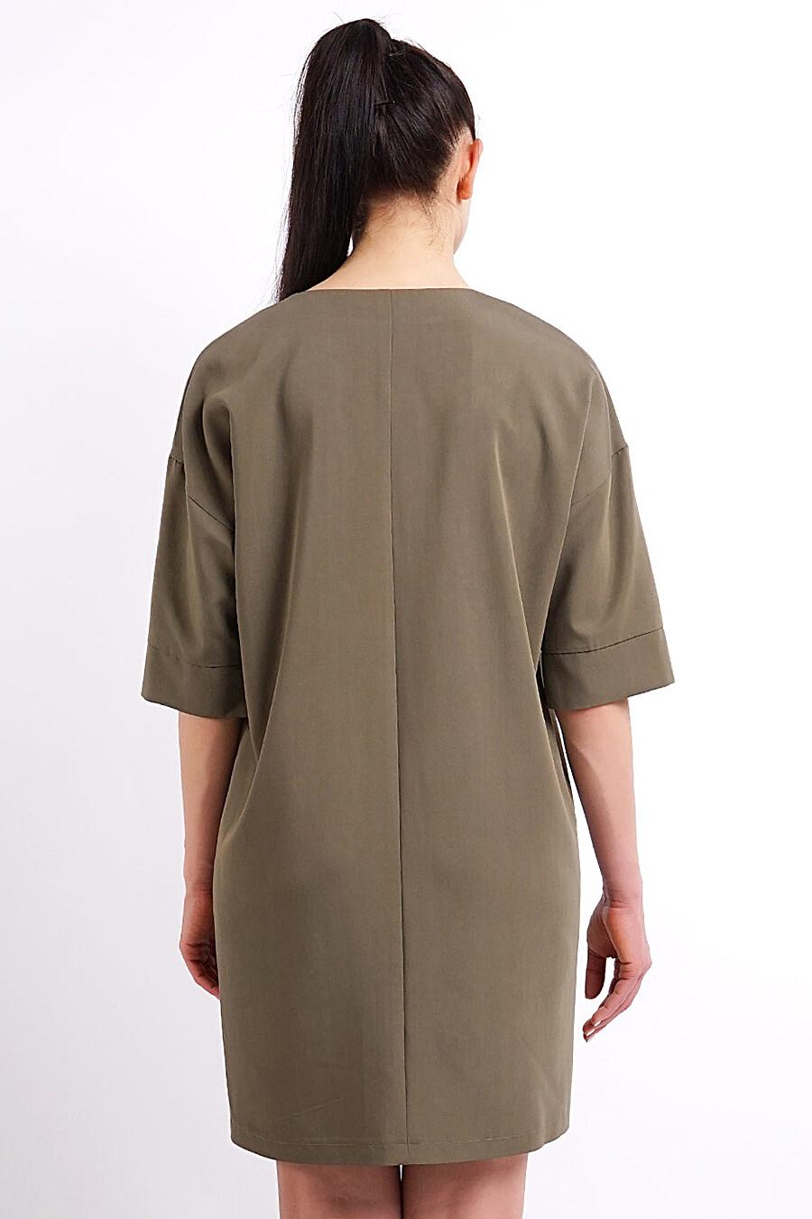 Платье для женщин CLEVER 158350 купить оптом от производителя. Совместная покупка женской одежды в OptMoyo