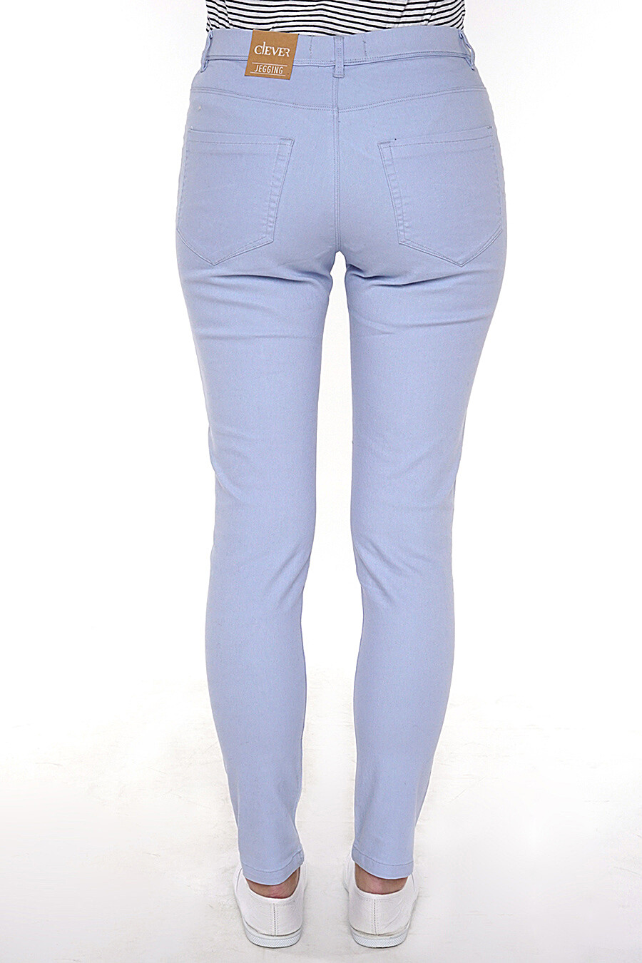Джинсы для женщин CLEVER 158395 купить оптом от производителя. Совместная покупка женской одежды в OptMoyo