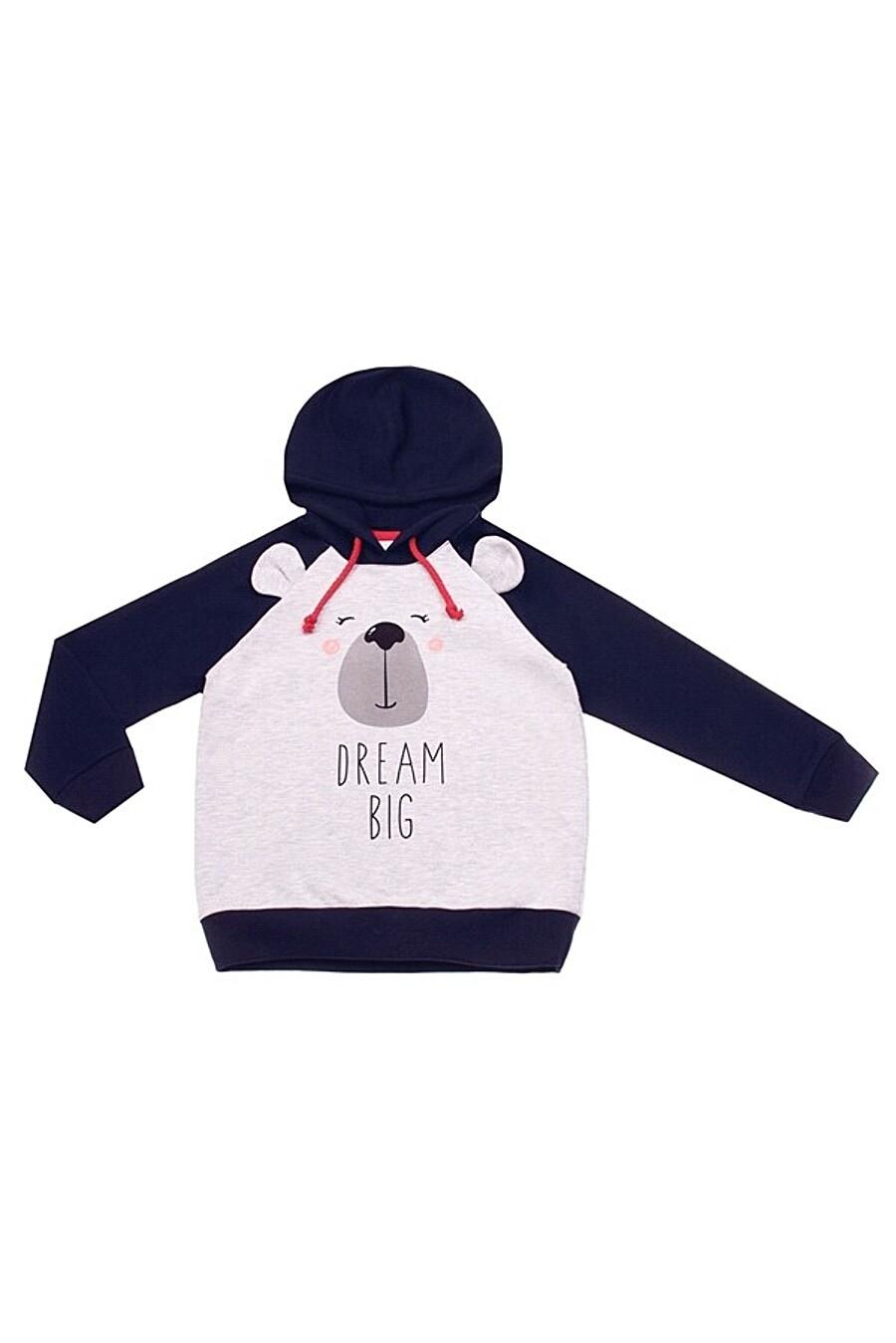 Худи для мальчиков Archi 158494 купить оптом от производителя. Совместная покупка детской одежды в OptMoyo