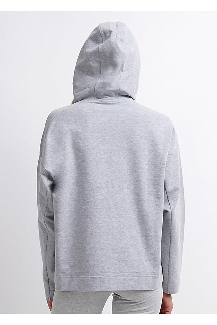 Толстовка для женщин CLEVER 158762 купить оптом от производителя. Совместная покупка женской одежды в OptMoyo