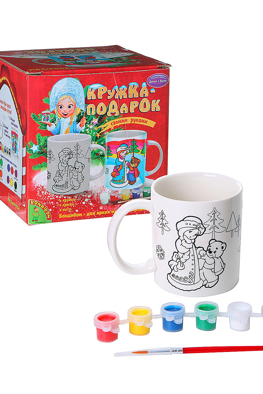 Набор для творчества для детей BONDIBON 159476 купить оптом от производителя. Совместная покупка игрушек в OptMoyo