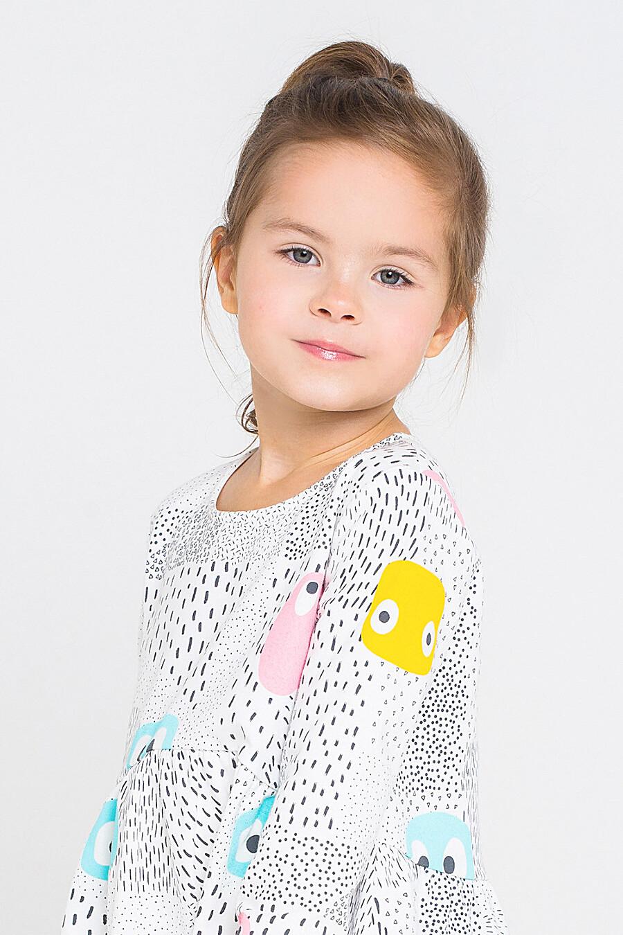 Платье для девочек CROCKID 161157 купить оптом от производителя. Совместная покупка детской одежды в OptMoyo