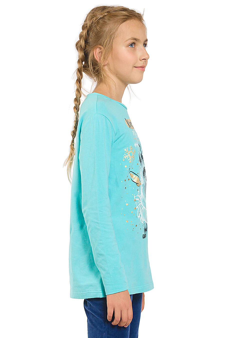 Джемпер для девочек PELICAN 161246 купить оптом от производителя. Совместная покупка детской одежды в OptMoyo