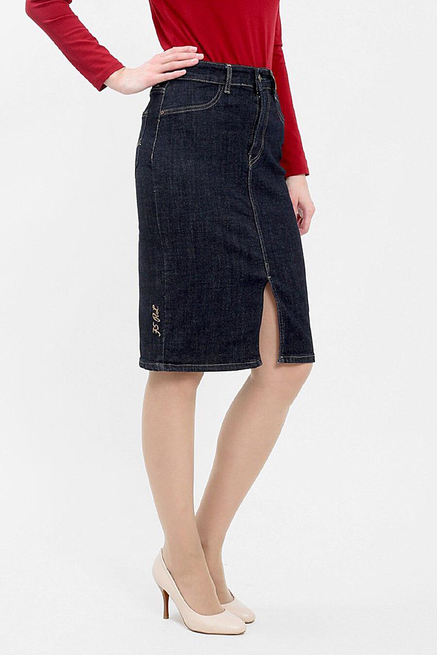 Юбка для женщин F5 161310 купить оптом от производителя. Совместная покупка женской одежды в OptMoyo