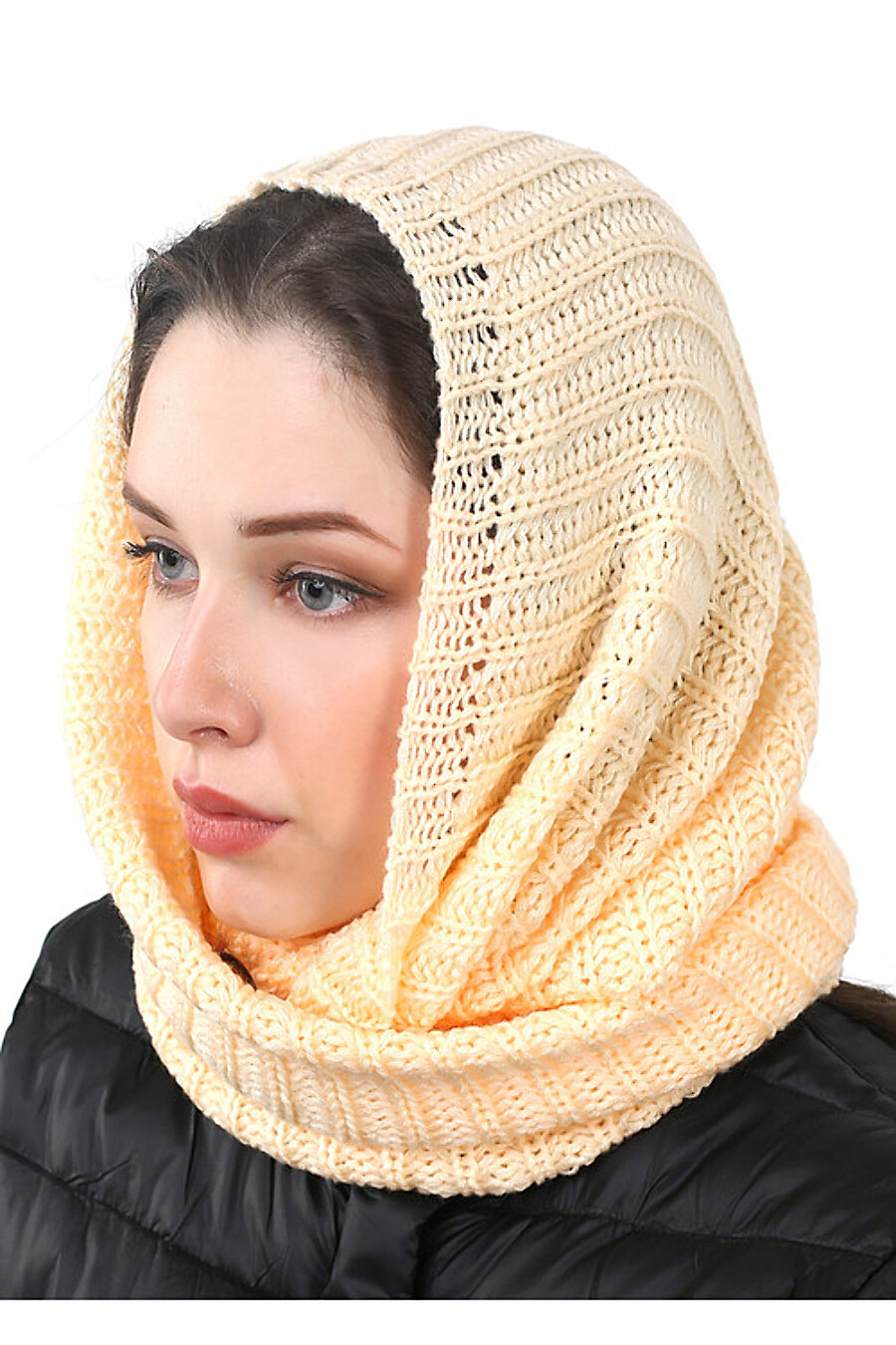 Шарф для женщин CLEVER 163219 купить оптом от производителя. Совместная покупка женской одежды в OptMoyo