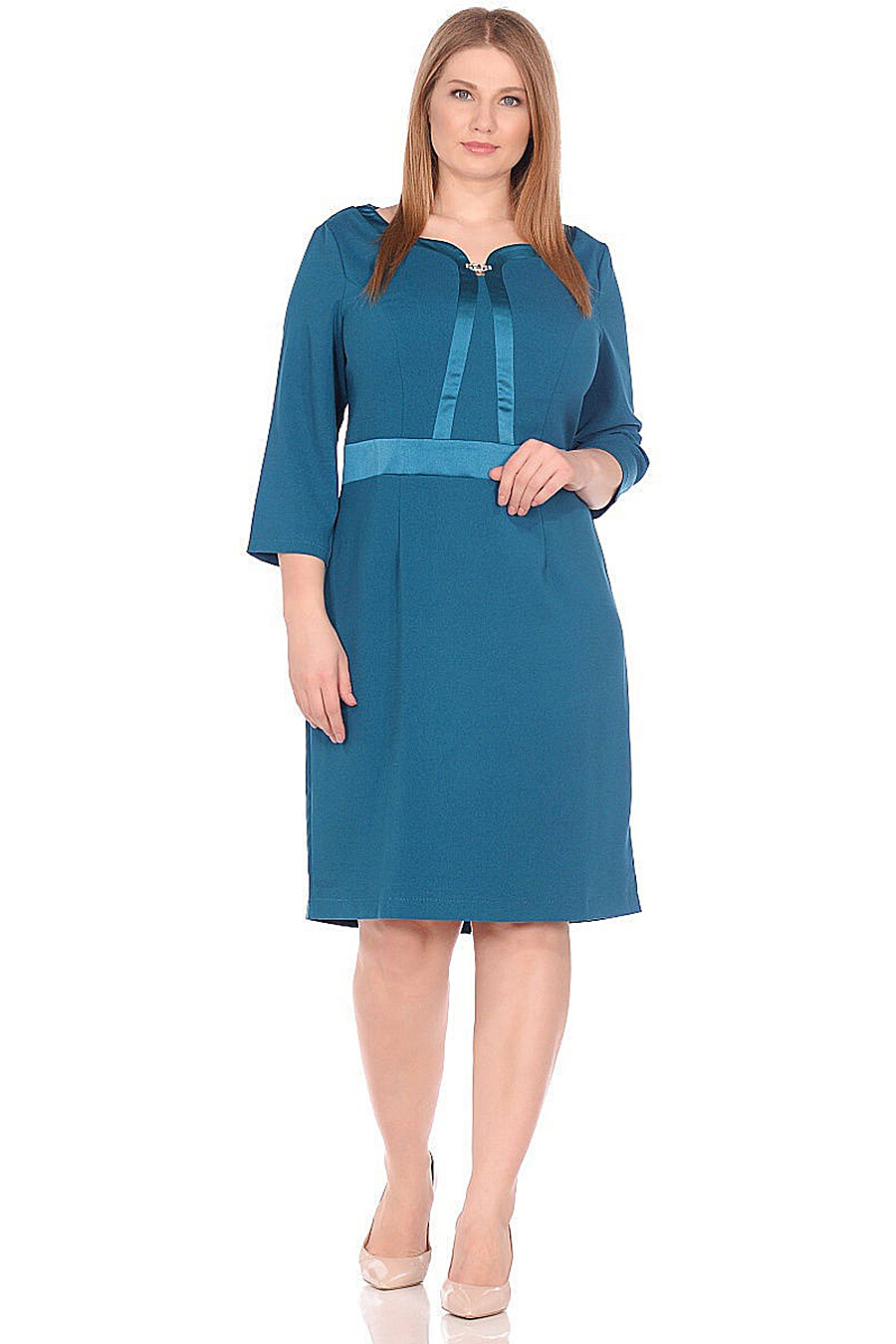 Платье для женщин DREAM WORLD 165399 купить оптом от производителя. Совместная покупка женской одежды в OptMoyo