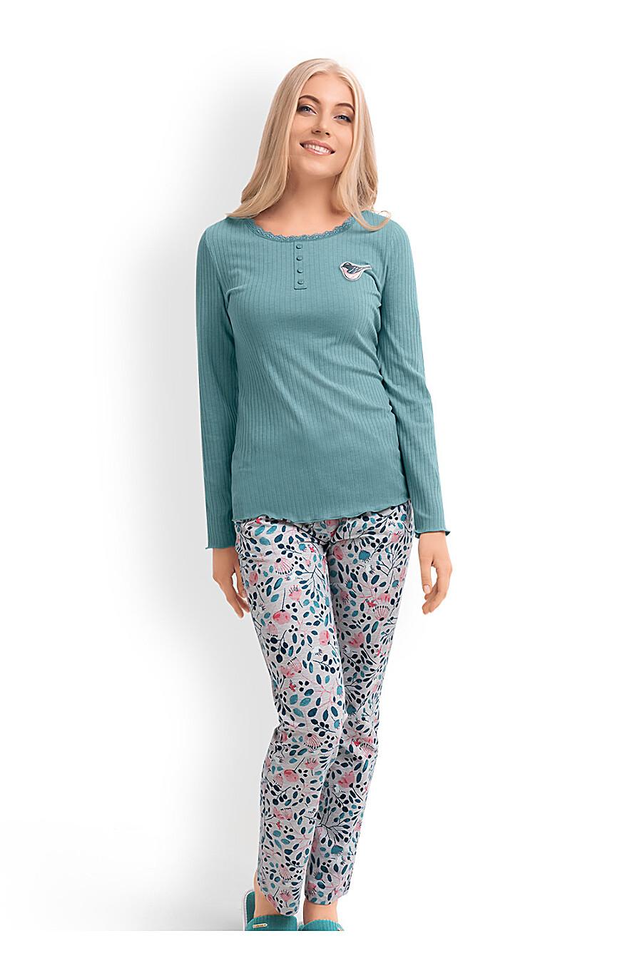 Комплект (джемпер+брюки) для женщин CLEVER 169235 купить оптом от производителя. Совместная покупка женской одежды в OptMoyo