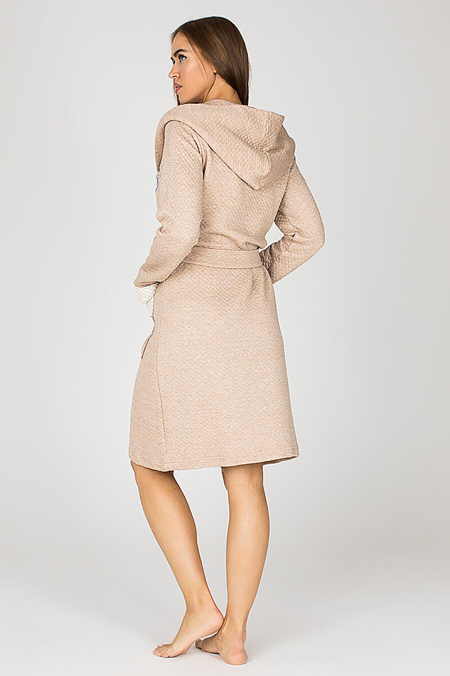 Халат для женщин PE.CHITTO 169426 купить оптом от производителя. Совместная покупка женской одежды в OptMoyo