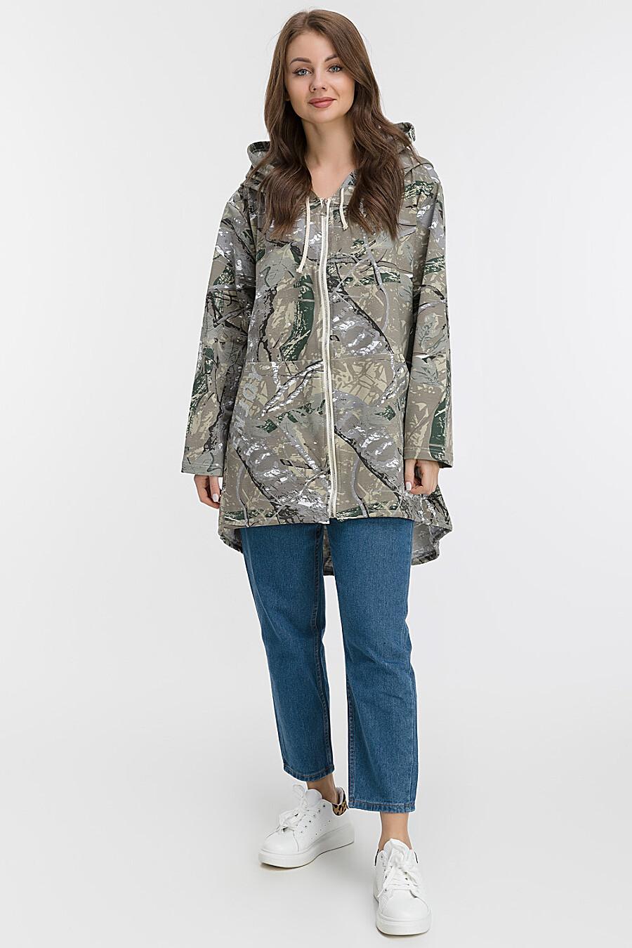 Ветровка для женщин MODALIME 169451 купить оптом от производителя. Совместная покупка женской одежды в OptMoyo