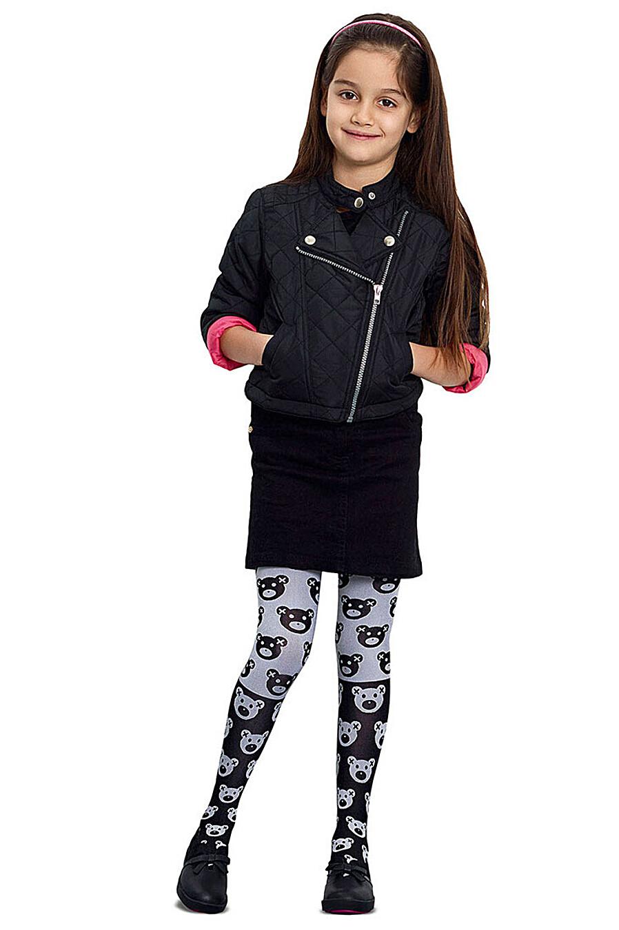 Колготки для девочек PE.CHITTO 169521 купить оптом от производителя. Совместная покупка детской одежды в OptMoyo