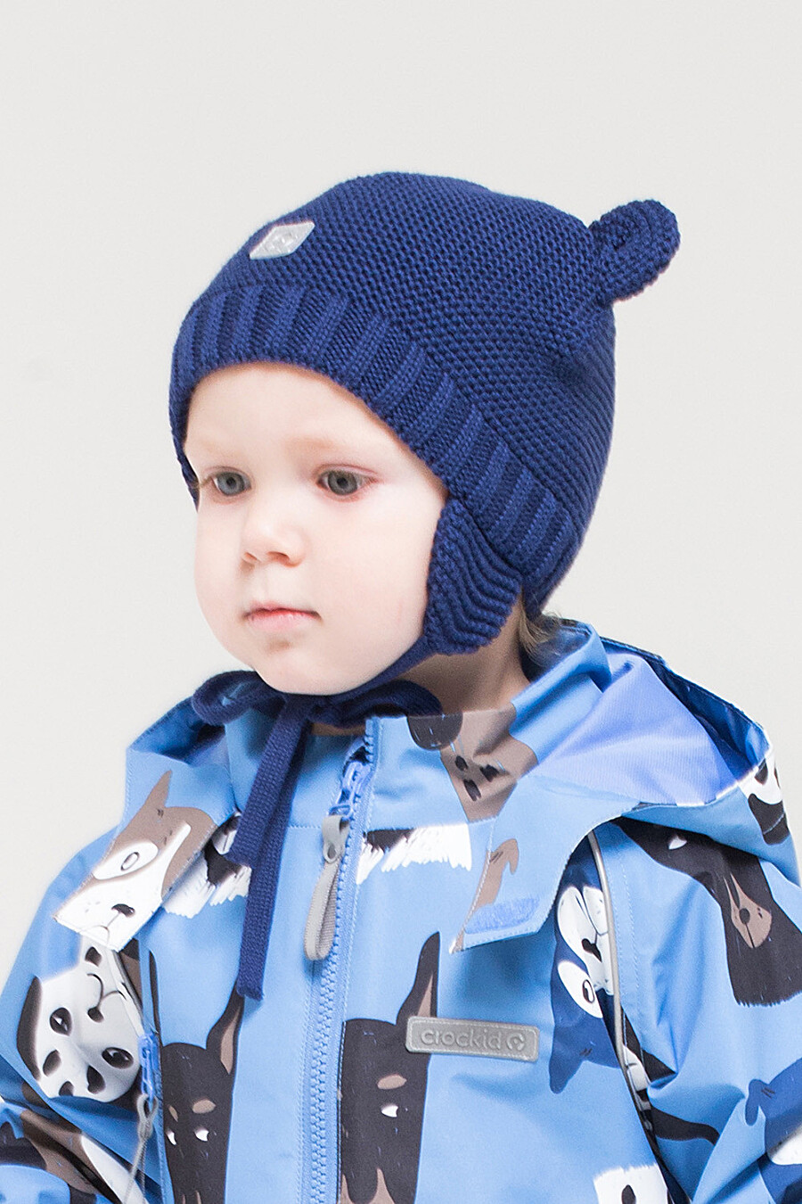 Шапка для мальчиков CROCKID 175800 купить оптом от производителя. Совместная покупка детской одежды в OptMoyo