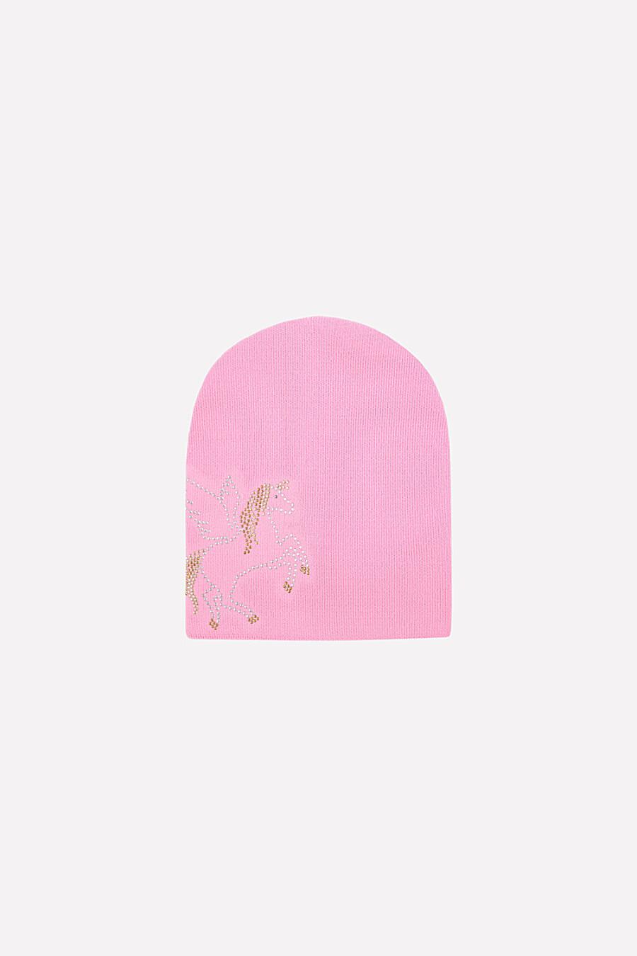 Шапка для девочек CROCKID 175873 купить оптом от производителя. Совместная покупка детской одежды в OptMoyo