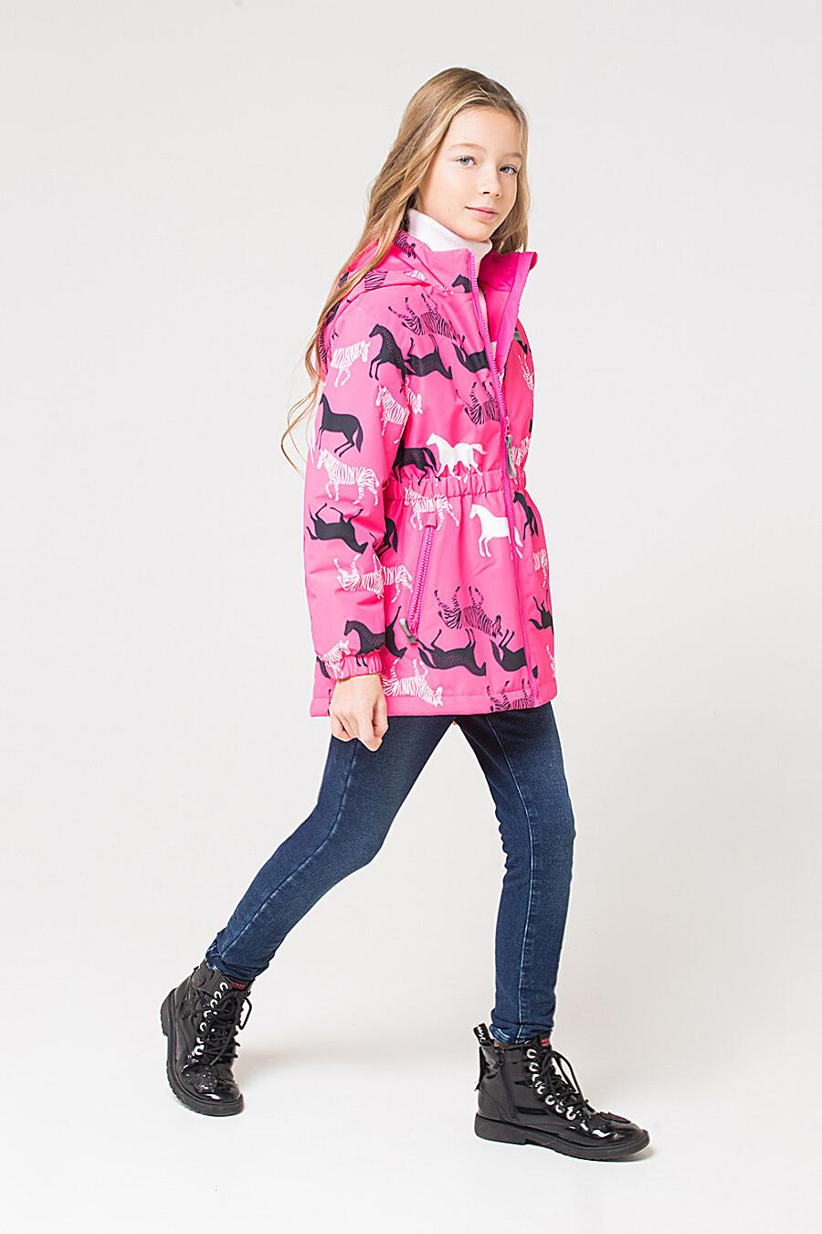 Куртка для девочек CROCKID 176067 купить оптом от производителя. Совместная покупка детской одежды в OptMoyo