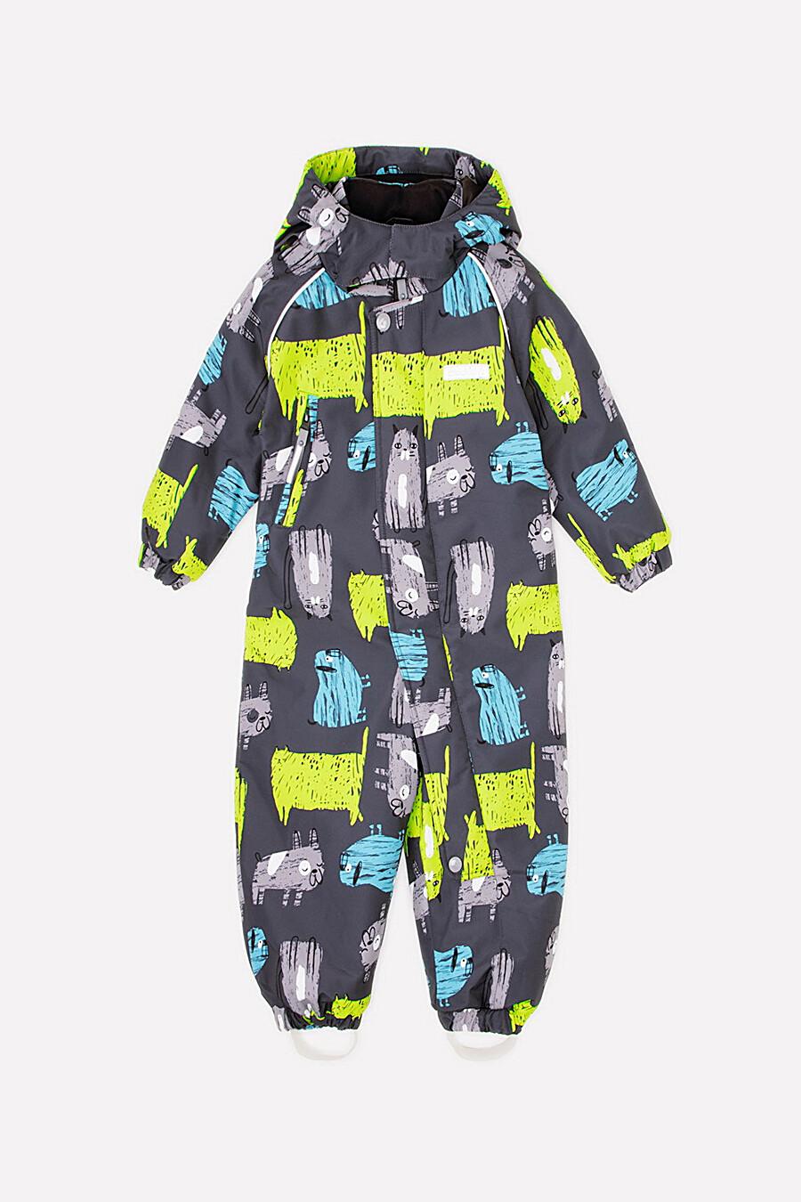 Комбинезон для мальчиков CROCKID 176104 купить оптом от производителя. Совместная покупка детской одежды в OptMoyo