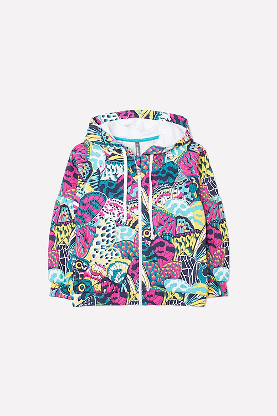 Толстовка для девочек CROCKID 180695 купить оптом от производителя. Совместная покупка детской одежды в OptMoyo