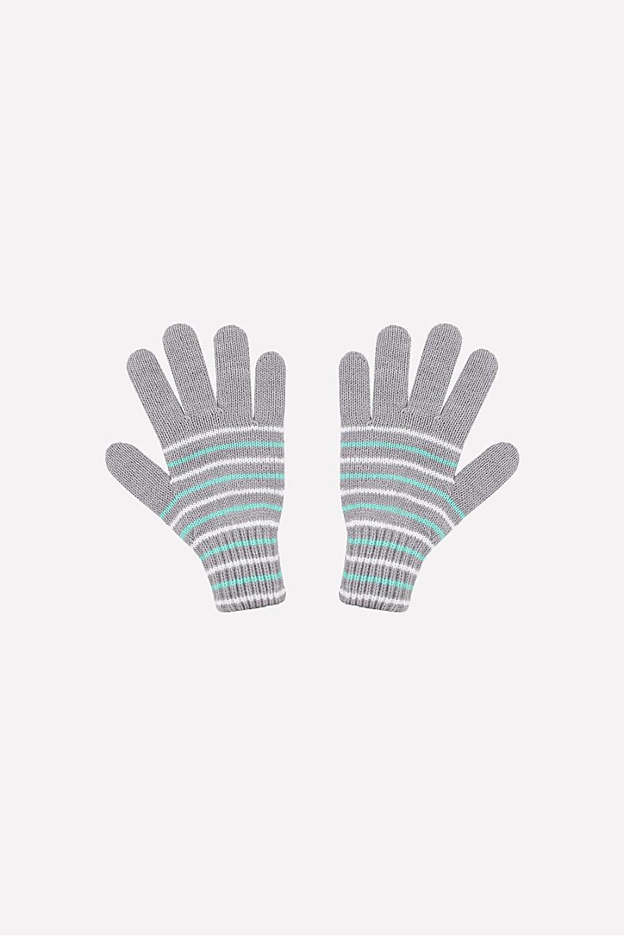 Перчатки для девочек CROCKID 180728 купить оптом от производителя. Совместная покупка детской одежды в OptMoyo