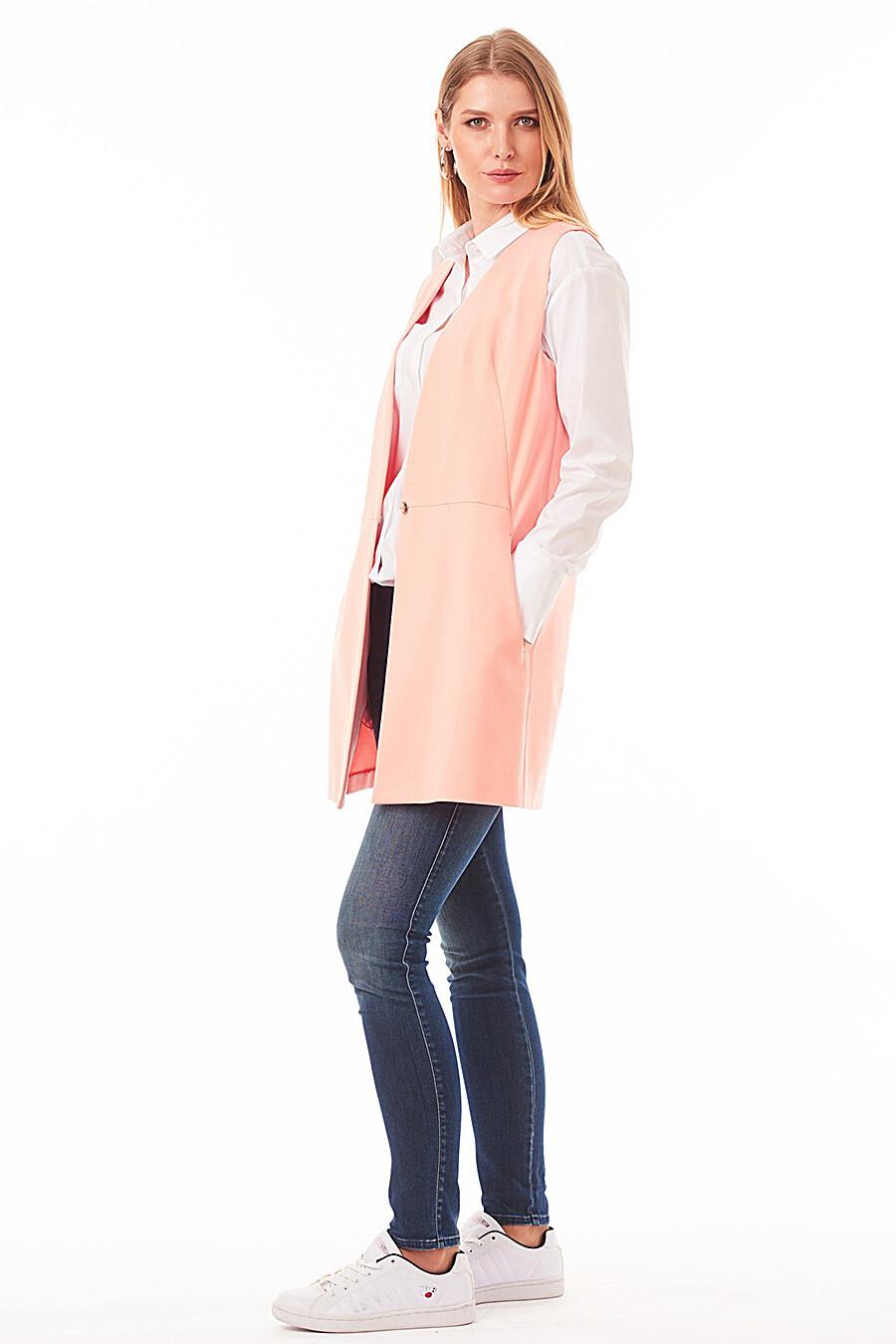 Жилет для женщин VEMINA 181120 купить оптом от производителя. Совместная покупка женской одежды в OptMoyo